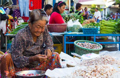 Elders of the market Royalty Free Stock Image