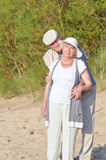 Elders on vacation Royalty Free Stock Photography