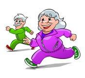 Eldery athletes Royalty Free Stock Photography