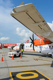 Eldfluga ATR-72 Arkivfoto