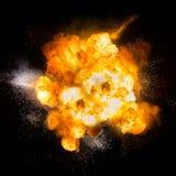 Eldkula: explosion explosion stock illustrationer