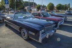 1976 Eldorado ενενήντα οκτώ Cadillac μετατρέψιμο Στοκ φωτογραφία με δικαίωμα ελεύθερης χρήσης