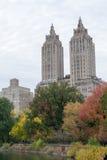 Eldorado avec les arbres colorés par automne images libres de droits
