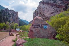 Eldorado Canyon State Park Stock Photo
