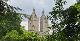 The Eldorado and Central Park New York City Stock Image