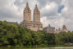 The Eldorado and Central Park New York City Royalty Free Stock Photography