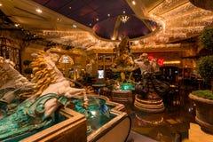 Eldorado Resort and Casino Indoor fountain Stock Image