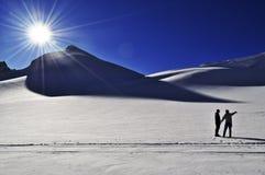 Eldridge Gletscher Stockbild