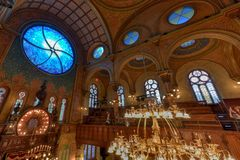 Eldridge Street Synagogue - New York City Stock Image