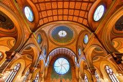 Eldridge Uliczna synagoga - Miasto Nowy Jork zdjęcia stock