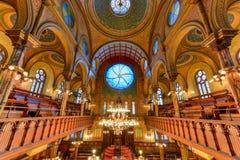 Eldridge Uliczna synagoga - Miasto Nowy Jork obrazy royalty free