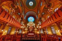 Eldridge Uliczna synagoga - Miasto Nowy Jork zdjęcie royalty free