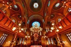 Eldridge Uliczna synagoga - Miasto Nowy Jork zdjęcie stock