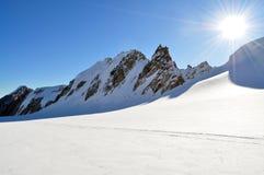 Eldrige Gletscher Lizenzfreies Stockfoto