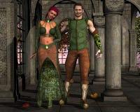 Ele e ela Foto de Stock Royalty Free