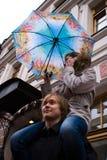 Ele e ela St Dia do ` s do Valentim Foto de Stock