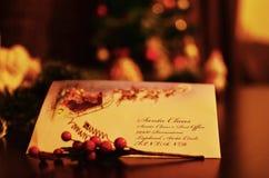 Ele tempo do ` s escrever uma letra a Santa Claus Fotografia de Stock Royalty Free