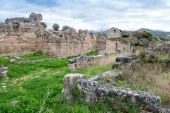 Elea Velia en périodes romaines, est une ville antique de Magna Grecia Photographie stock libre de droits