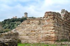 Elea Velia nas épocas romanas, é uma cidade antiga de Magna Grecia Foto de Stock Royalty Free