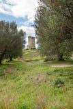 Elea Velia nas épocas romanas, é uma cidade antiga de Magna Grecia imagens de stock royalty free