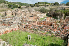 Elea Velia in Roman times, is an ancient city of Magna Grecia Royalty Free Stock Image