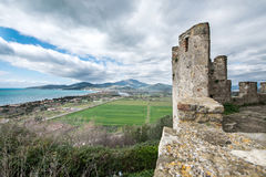 Elea Velia in Roman times, is an ancient city of Magna Grecia Stock Image