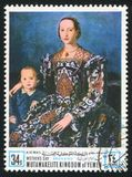 Eleanor του Τολέδο από Bronzino Στοκ εικόνες με δικαίωμα ελεύθερης χρήσης
