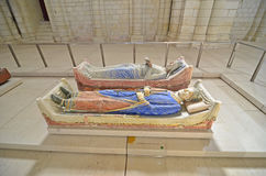 Eleanor of Aquitaine and Henry II Stock Photography