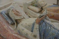 Eleanor av Aquitaine på kungliga Abbey Fontevraud royaltyfria foton