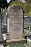Eleanor Rigby Grave in Liverpool Royalty Free Stock Photography
