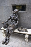 Eleanor Rigby Sculpture in Liverpool Stock Images