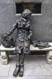 Eleanor Rigby Sculpture in Liverpool Stock Image