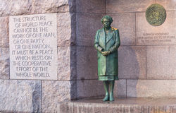 Eleanor Roosevelt Monument Washington DC Stock Photography