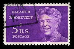 Eleanor Roosevelt US Postage Stamp Stock Photography