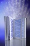 elearning ebook принципиальной схемы Стоковое Фото