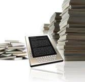 elearning ebook принципиальной схемы Стоковое Изображение RF