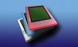 elearning ebook принципиальной схемы Стоковое фото RF