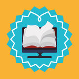 Elearning and ebook design Royalty Free Stock Photo