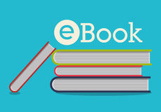 Elearning and ebook design Royalty Free Stock Images