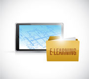 Elearning technology Stock Photos