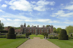 The eleborate gardens at Blickling hall Royalty Free Stock Photos