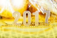Сelebration holiday new year 2017 Stock Images