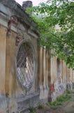 ELEC, LIPETSK/ROSJA, MAJ, - 09, 2017: stara kamienna ściana Obrazy Stock