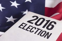 Elección 2016 Foto de archivo libre de regalías