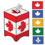 Elección de Canadá libre illustration
