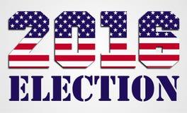 Elección 2016 de los E.E.U.U. Foto de archivo libre de regalías