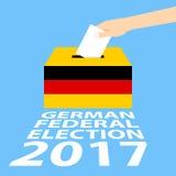 Elección federal alemana 2017 Fotografía de archivo