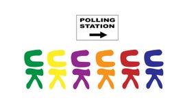 Elección general BRITÁNICA Fotos de archivo