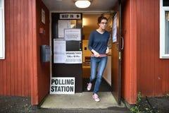 Elección general BRITÁNICA Imagen de archivo