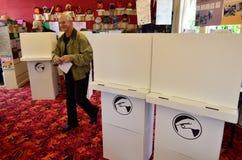 2014 elección general - elecciones Nueva Zelanda Imagenes de archivo